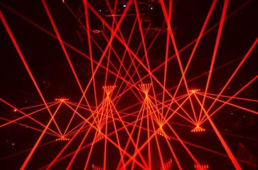 Laser bar RGB